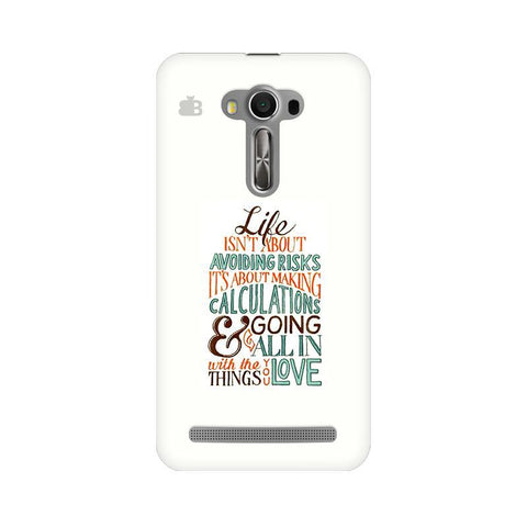 Making Calculations Asus Zenfone Selfie Phone Cover
