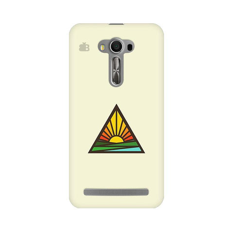 Triangular Sun Asus Zenfone Selfie Phone Cover