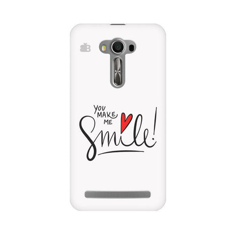 You make me Smile Asus Zenfone Selfie Phone Cover