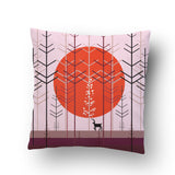 Winter Forest Cushion cover