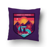 Keep Climbing Cushion cover