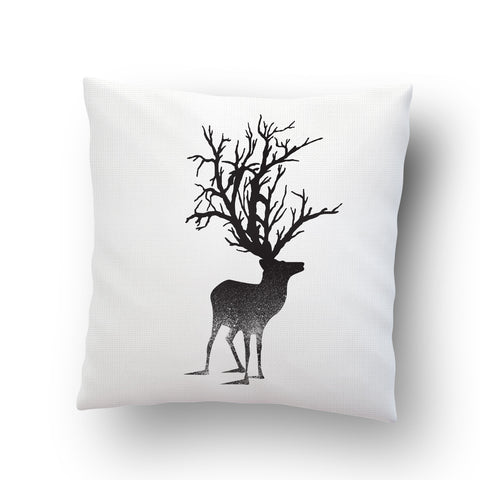 Abstract Deer Cushion cover