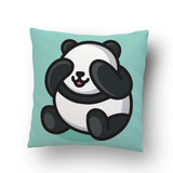 Cute Panda Cushion Cover