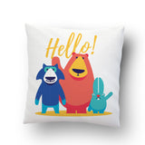 Hello Cushion Cover