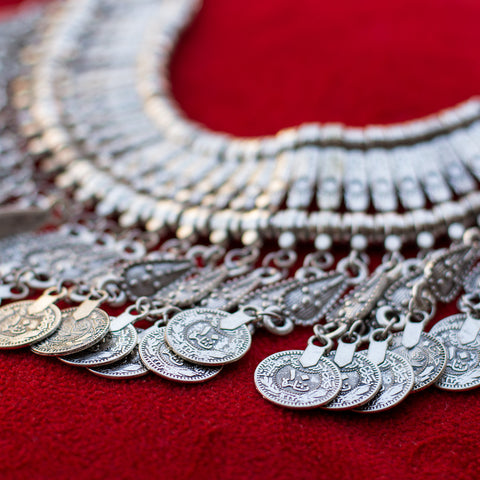 Tribal Coins Necklace