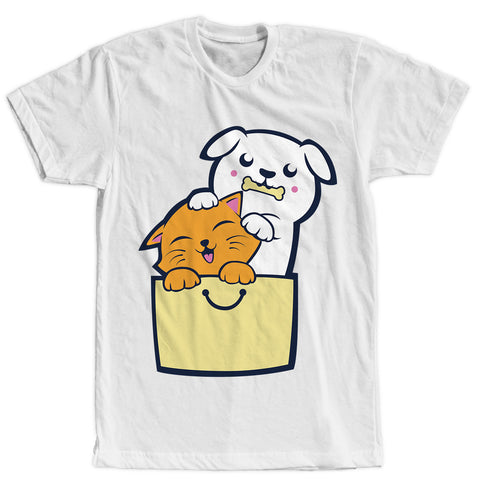 Kitty Puppy Buddies T-Shirt