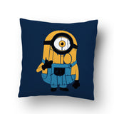 Minion Typography Cushion Cover