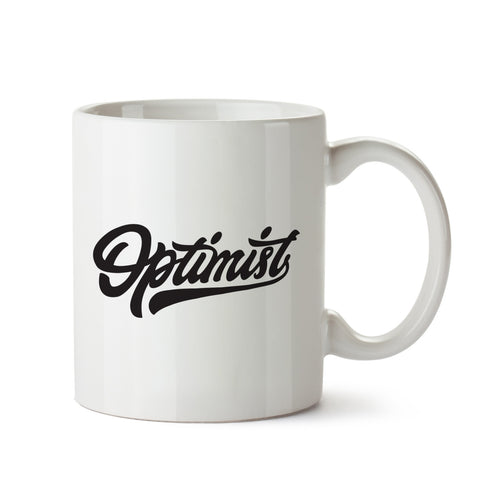 Optimist White Coffee Mug