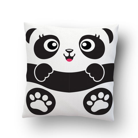 Panda Baby Cushion Cover