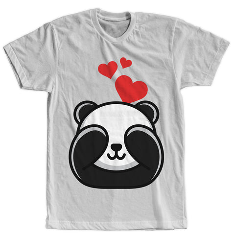 Panda in Love T-shirt