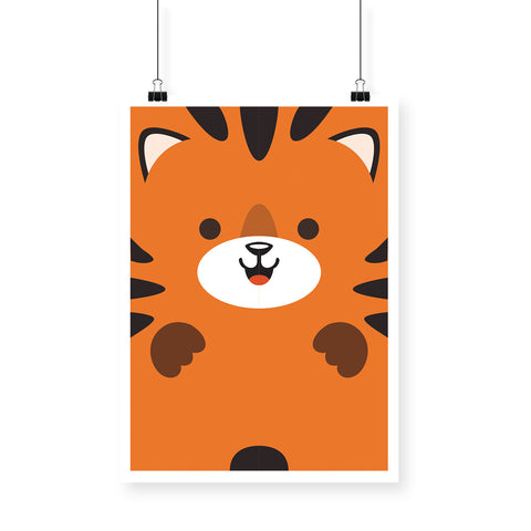 Baby Tiger Poster