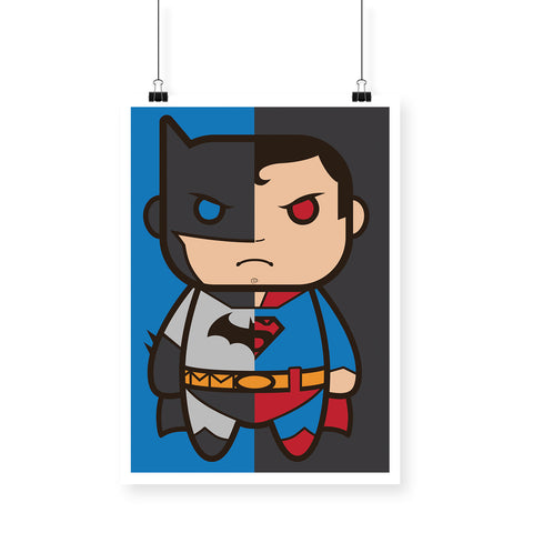 Cute SuperHeroes Poster