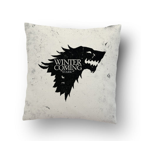 Winter Is Coming Cushion Cover