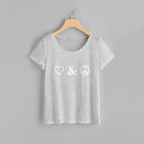 Love Peace Women Tee