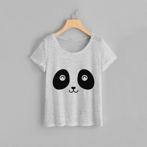 Happy Panda Women Tee