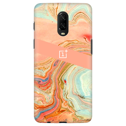 Colorful Marble OnePlus 6T Cover
