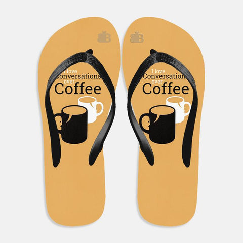 Convos over Coffee Flip Flops