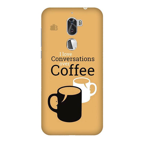 Convos over Coffee Coolpad Cool 1 Phone Cover