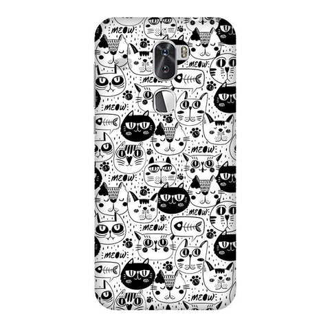 Cute Cats Pattern Coolpad Cool 1 Phone Cover