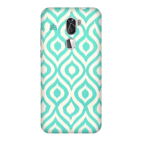 Cyan Ikat Coolpad Cool 1 Phone Cover