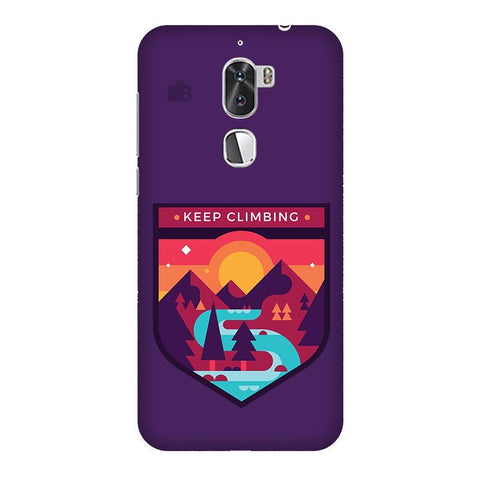 Keep Climbing Coolpad Cool 1 Phone Cover