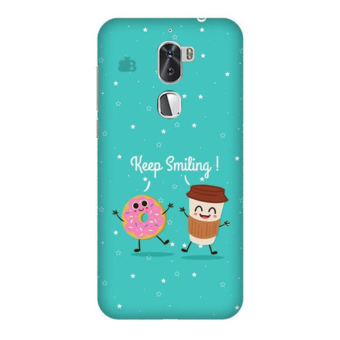 Keep Smiling Coolpad Cool 1 Phone Cover