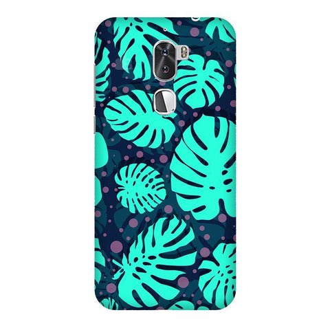 Tropical Leaves Pattern Coolpad Cool 1 Phone Cover