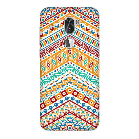 Wavy Ethnic Art Coolpad Cool 1 Phone Cover