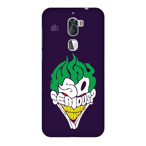 Why So Serious Coolpad Cool 1 Phone Cover