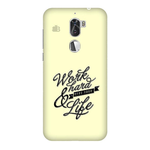Work Hard Coolpad Cool 1 Phone Cover