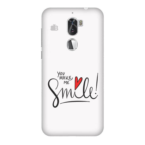 You make me Smile Coolpad Cool 1 Phone Cover