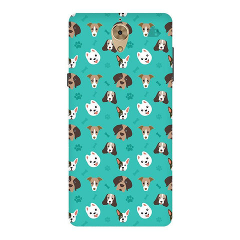 Doggie Pattern Coolpad Mega 2#5D Phone Cover