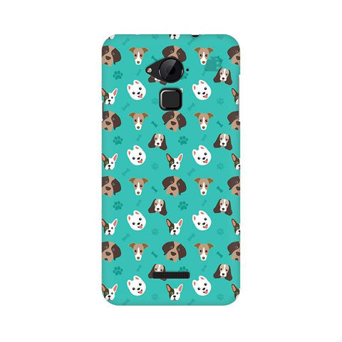 Doggie Pattern Coolpad Note 3 Phone Cover