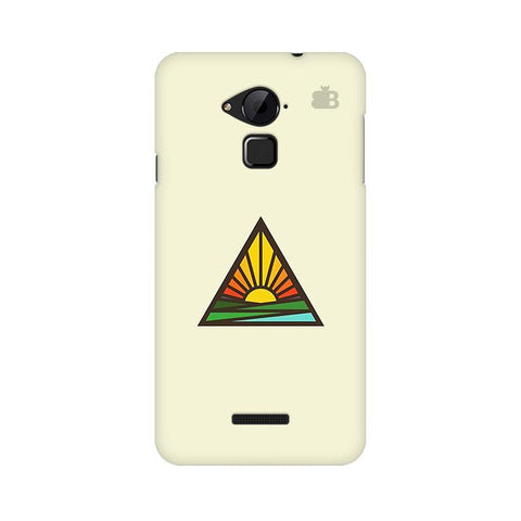 Triangular Sun Coolpad Note 3 Phone Cover