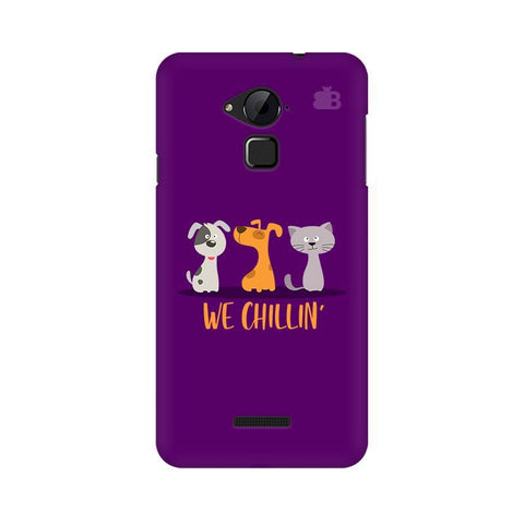 We Chillin Coolpad Note 3 Phone Cover