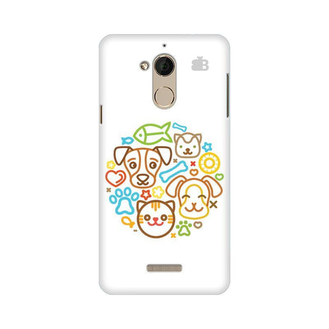 Cute Pets Coolpad Note 5 Phone Cover