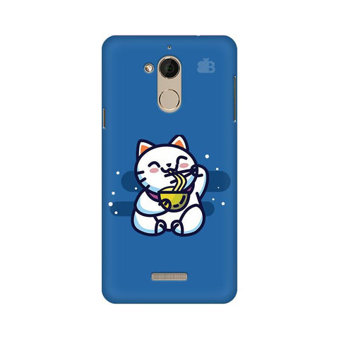 KItty eating Noodles Coolpad Note 5 Phone Cover