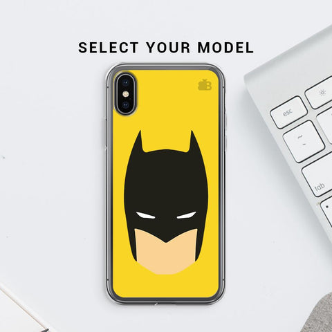 Angry Masked Superhero Soft Phone Cover