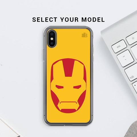 Angry Superhero Mask Soft Phone Cover