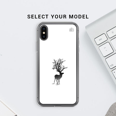 Abstract Deer Soft Phone Cover