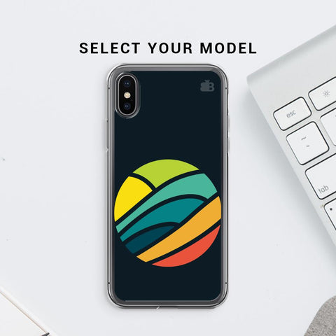 Abstract Circle Soft Phone Cover
