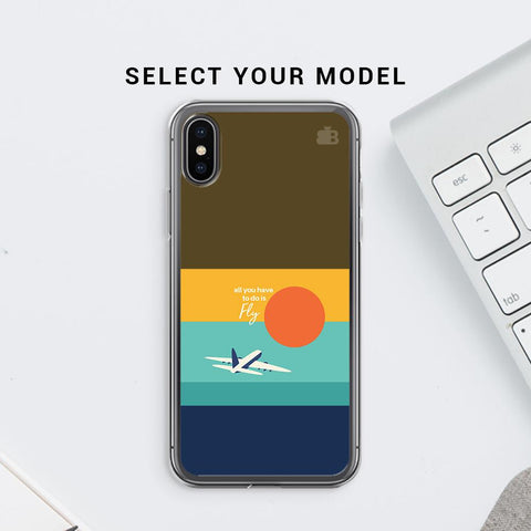 Just Fly Soft Phone Cover