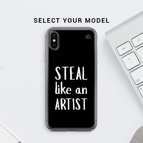 Steal like an Artist Soft Phone Cover