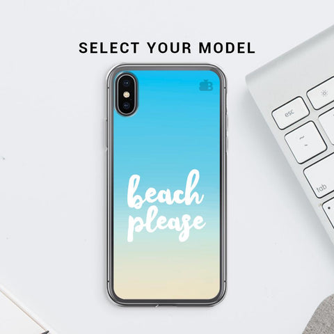 Beach Please Soft Phone Cover