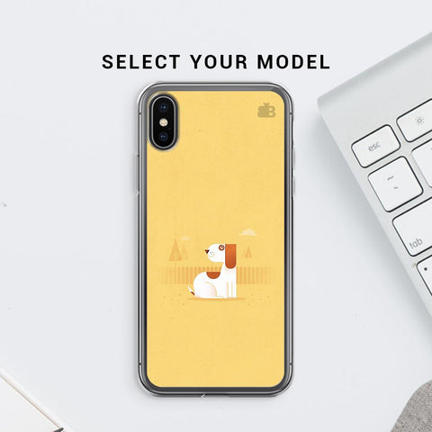 Calm Dog Soft Phone Cover