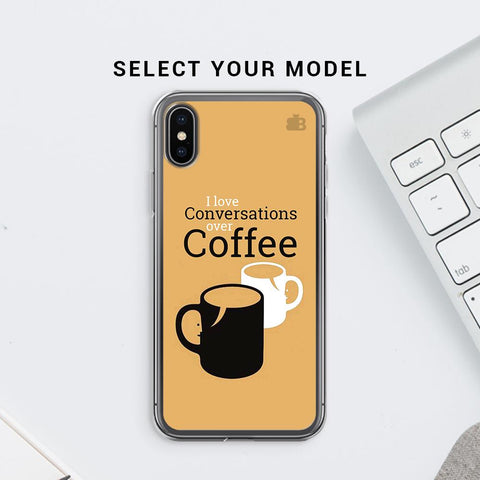 Convos over Coffee Soft Phone Cover