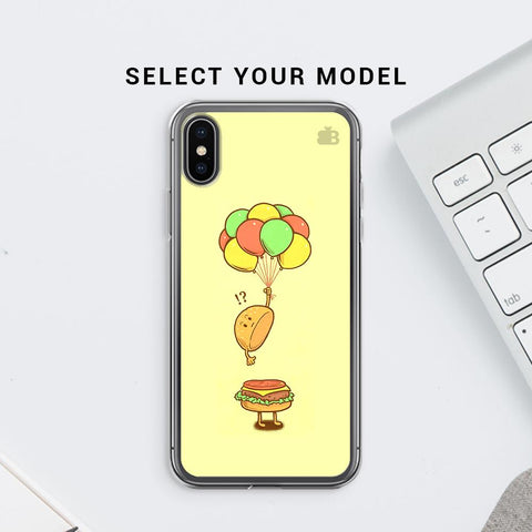 Light Burger Soft Phone Cover