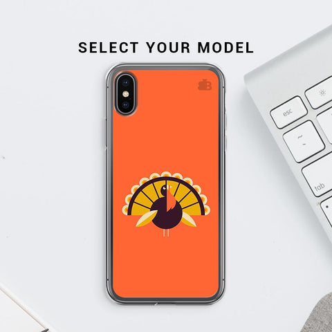 Peacock Soft Phone Cover