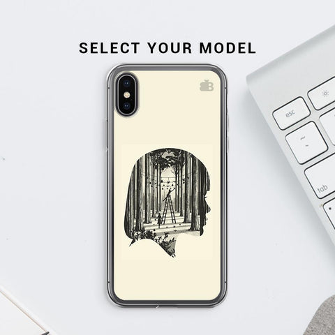 Double Exposure Soft Phone Cover