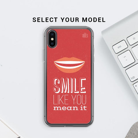 Smile Soft Phone Cover